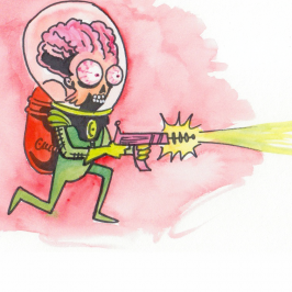 MARS ATTACKS, Nearing the Finish Line!