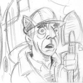Morning Sketch: Sometimes… Dead is Better